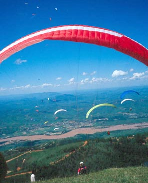 Paraglidiing